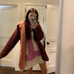 Reversible Urban Outfitters Teddy Coat